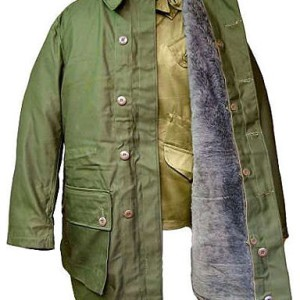Swedish parka green